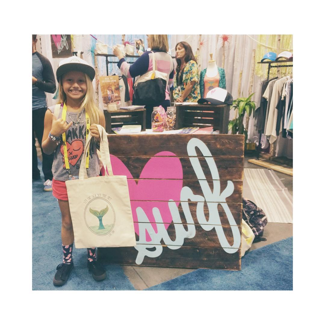 Congrats to our SURF EXPO giveaway winner!  @lil_ripper21406 Stay tuned for more expo fun and giveaways tomorrow! #booth1529 #surfexpo #wearthecalidream #luvsurfapparel