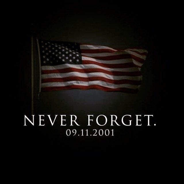 We will never forget but am proud how Americans came together after 9/11. We mourn the loss of all who suffered and still suffer. Wish we could all come together again like the days and weeks after 9/11. #neverforget #onecountry #oneworld #9/11 #bekind...