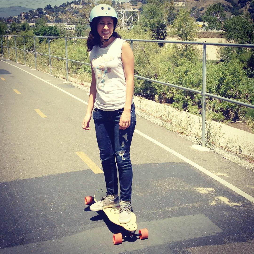 That's how we roll. #la #longboard