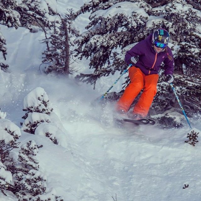 Who's ready? ••• @errcaderk getting after it last season! #sisterhoodofshred #winteriscoming