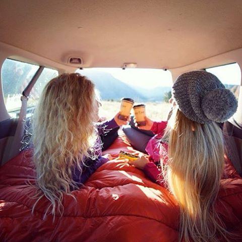 Road trip time with @roundtheworldgirl Yeehaw!! #gorumpl