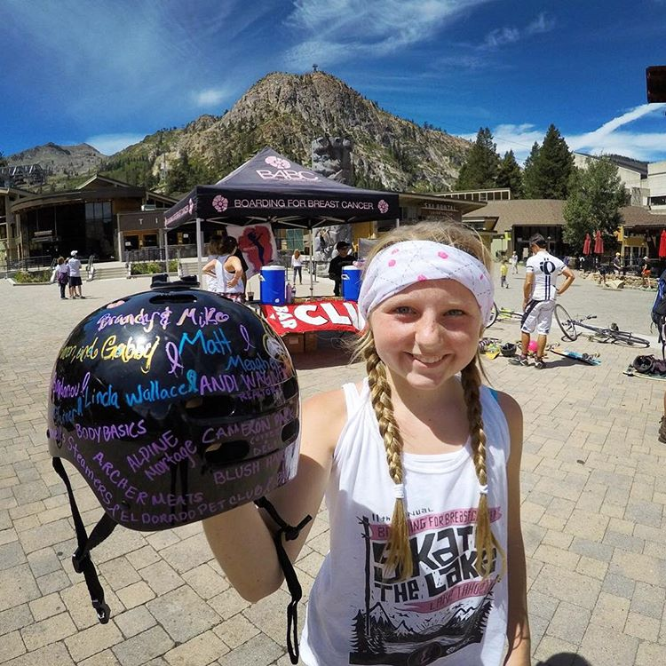 12-year-old Katie Lyssand was not only our top fundraiser at B4BC's Skate The Lake 2015, but she also was the youngest girl to skate the entire 28 miles! Read Katie's story on the blog, and sign up for our next skate event, Skate The Coast, in SoCal on...