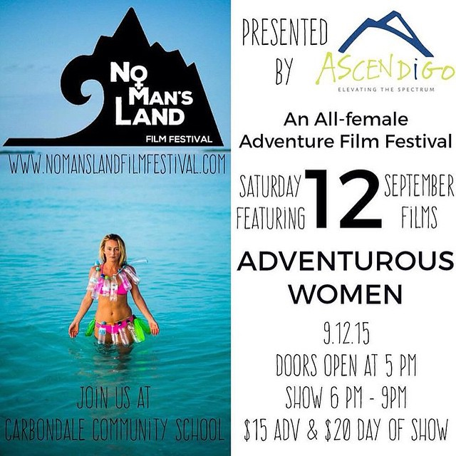"ASPEN FRIENDS: Check out my Maldives film ""One Person's Trash Is Another Woman's Bikini"" this Saturday Sept 12 at 6pm at the @nomanslandfilmfestival at the Carbondale Community School"