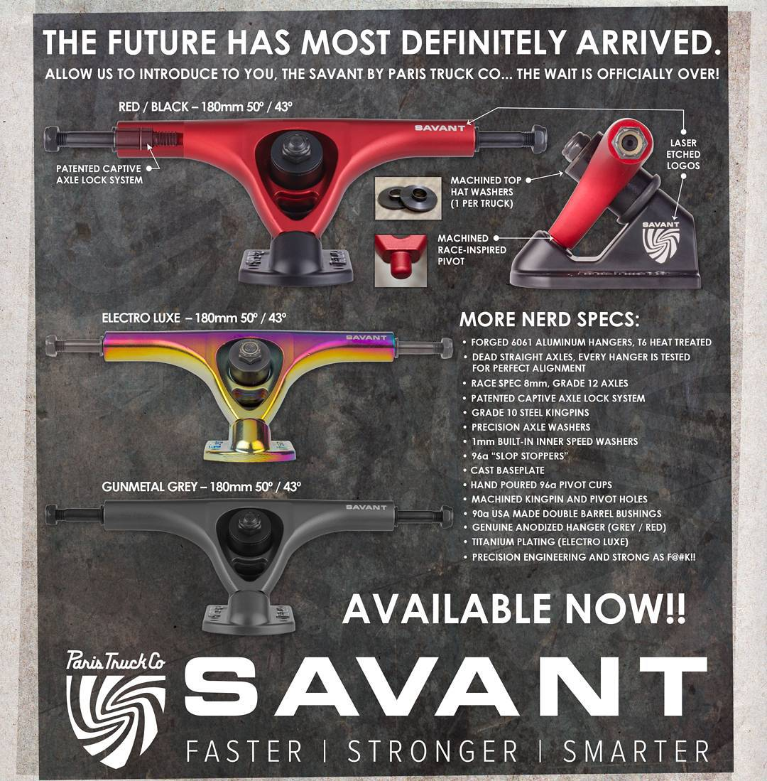 Finally, the wait is over. We wanted to make sure these babies were perfect before we released them, and, well... Here they are. The #ParisSavant: Faster, stronger, smarter.  The tech specs will speak for themselves, and the feel of the precise,...