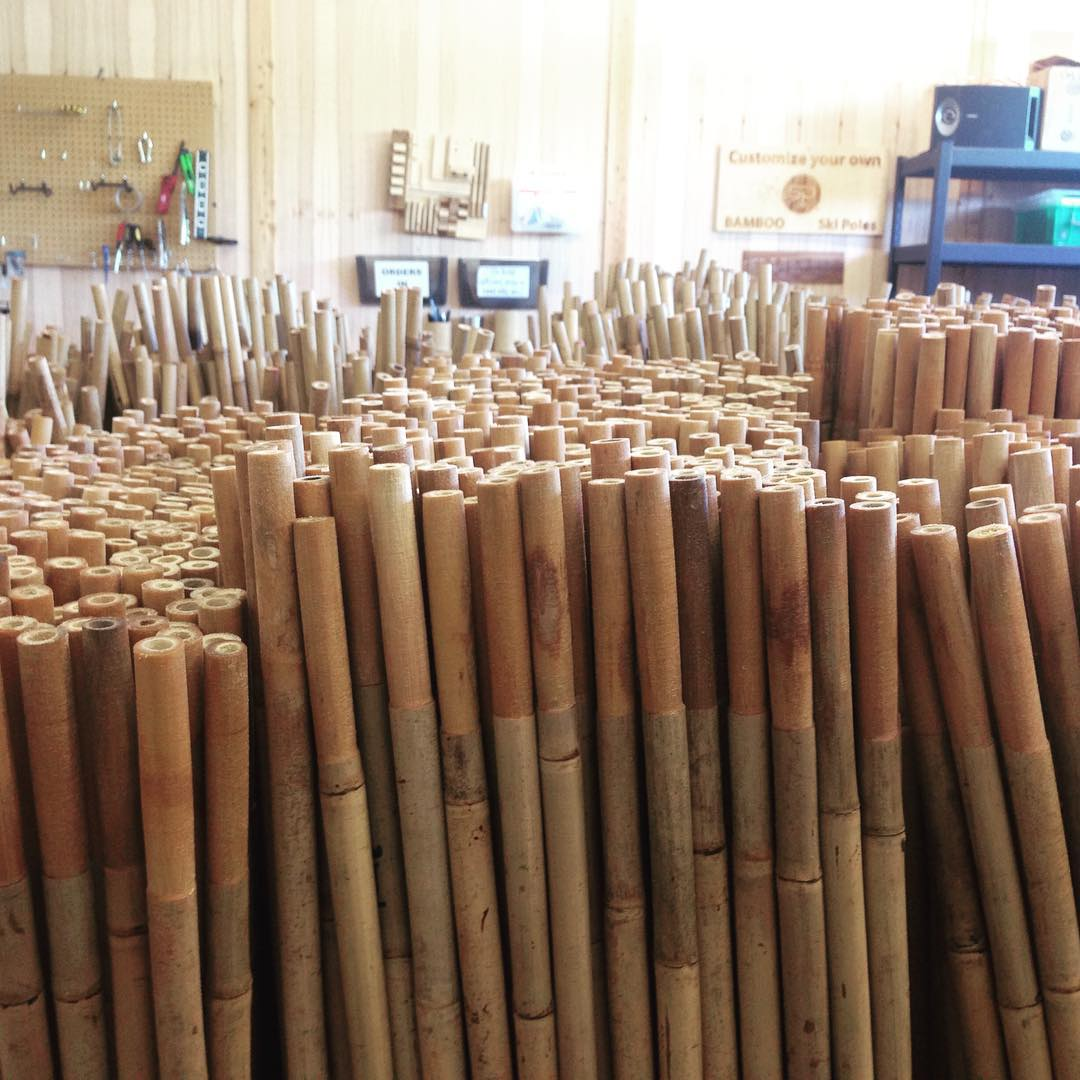 There's nothing like the smell of #bamboo in the morning // #qualityshafts
