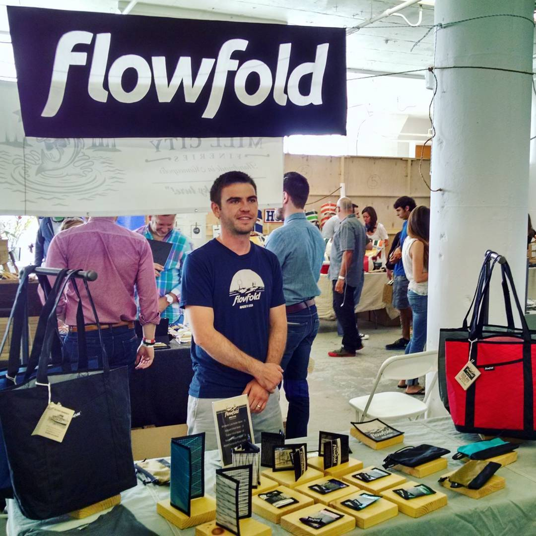 Here in #Boston at #AmericanField . If you are in the area come check it out! - #Flowfold