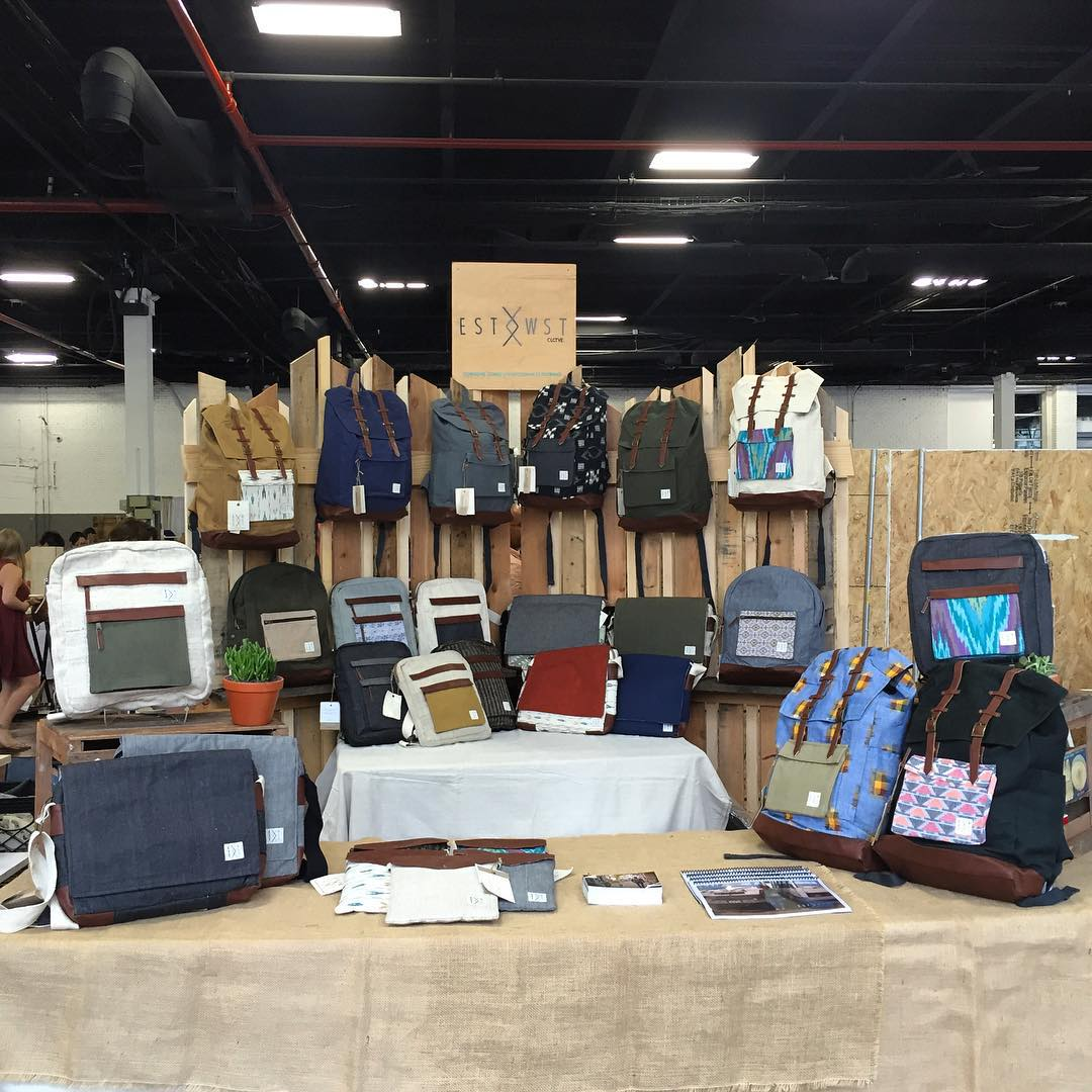 We're open! Come on out to the Brooklyn Expo Center. We'll be here all weekend. #renegadecraftfair #estwst #handmade #liveauthentic