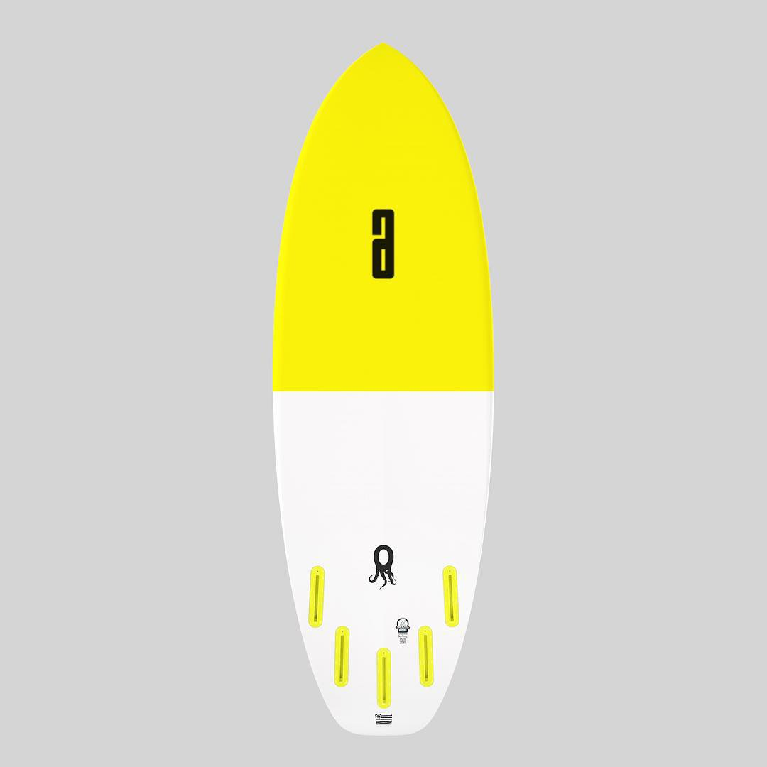 the Zero 5'5 x 20 5/8 x 2 5/16 with 30L, the ultimate summer surf tool. every custom board os now available with the big A or the AWESOME Ambigram Logo #awesome #awesomesurfboads #zero#surfing #surf#shredsleds #surfboards #summersurf
