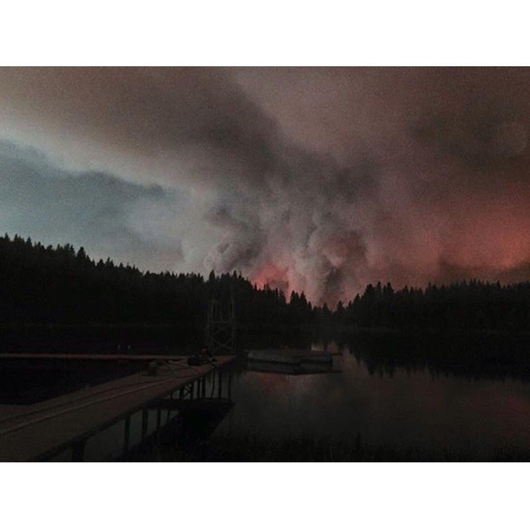The fire in the Sierra mountains of California creeps closer to our most beloved place on earth, @elementskatecamp. Please join us in sending positive vibes to this wonderful place so many of us love. Many thanks to the men and women risking their...