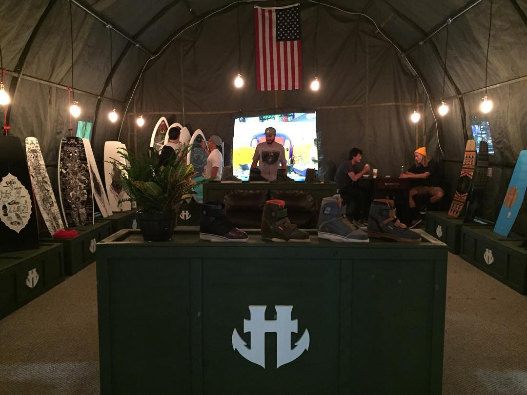 Thanks to everyone who stopped by our tent at #surfexpo this year.  We are so stoked for 2016! #wakeboarding #tentlife