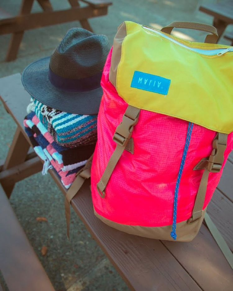 Weekend essentials // #discoverpack #mafiabags #mafiasurvivalkit #california