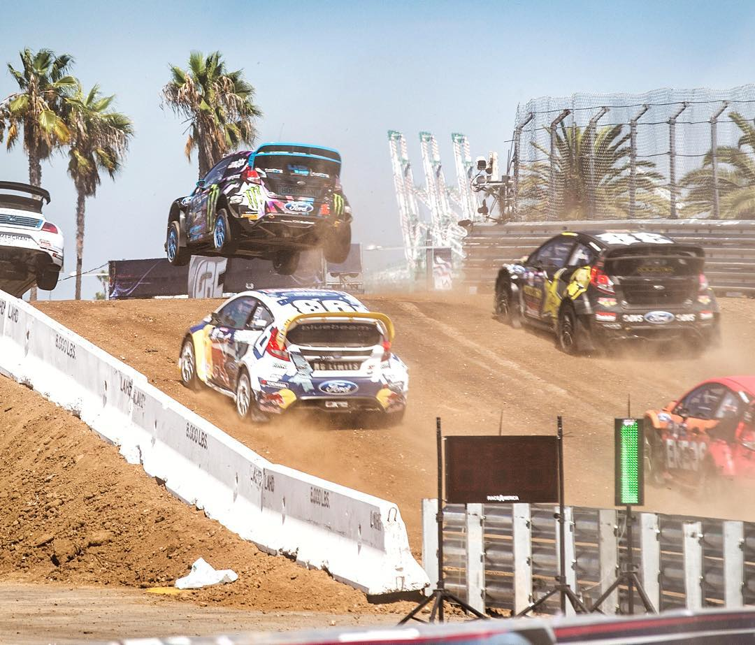 Came in 2nd on my semifinal here at #GlobalRallycross Los Angeles. Today is going much better than yesterday! Ha. Now all that's left for me today is the final, which I'm most likely starting from the front row. Tune in on NBC right now to watch the...