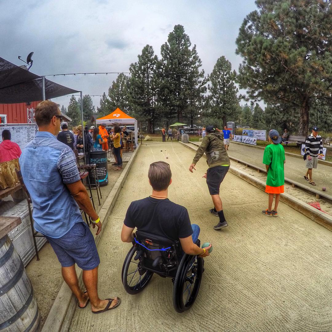 A heated Sunday battle. #bocce #gopro @gopro