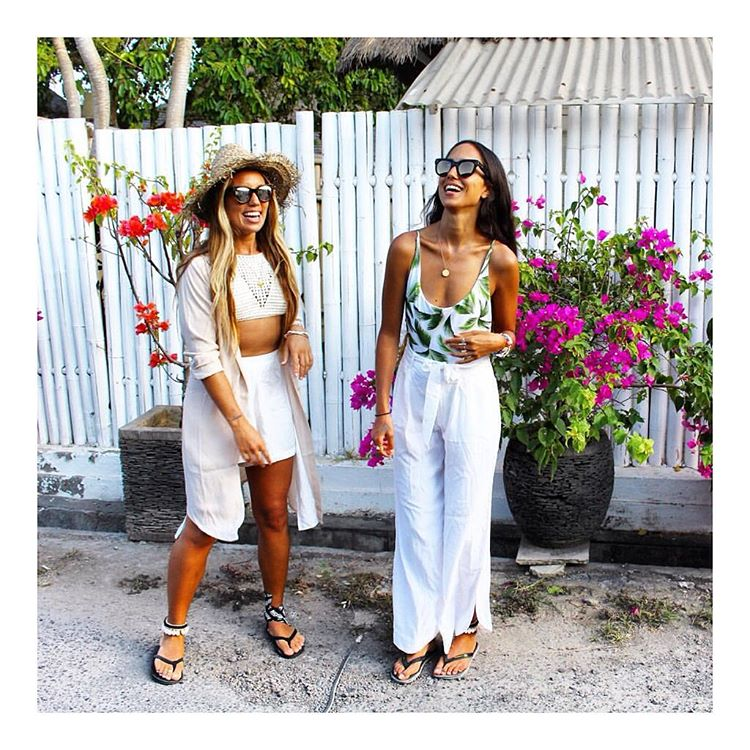 We ❤️ @welikebali ! Tropical vibes for days... #goodvibesonly #eternalsummer #regram #Indosole #TiresToSoles #SolesWithSoul • miss Pris rocking the #Innertubed sandal