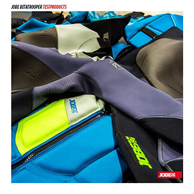 Jobe Betatroopers are important to us. Whenever we are testing our newest products together, we value their feedback so we can keep improving our products. That is why we are now going to send some of our newest wetsuits, boardshorts and vests to some...