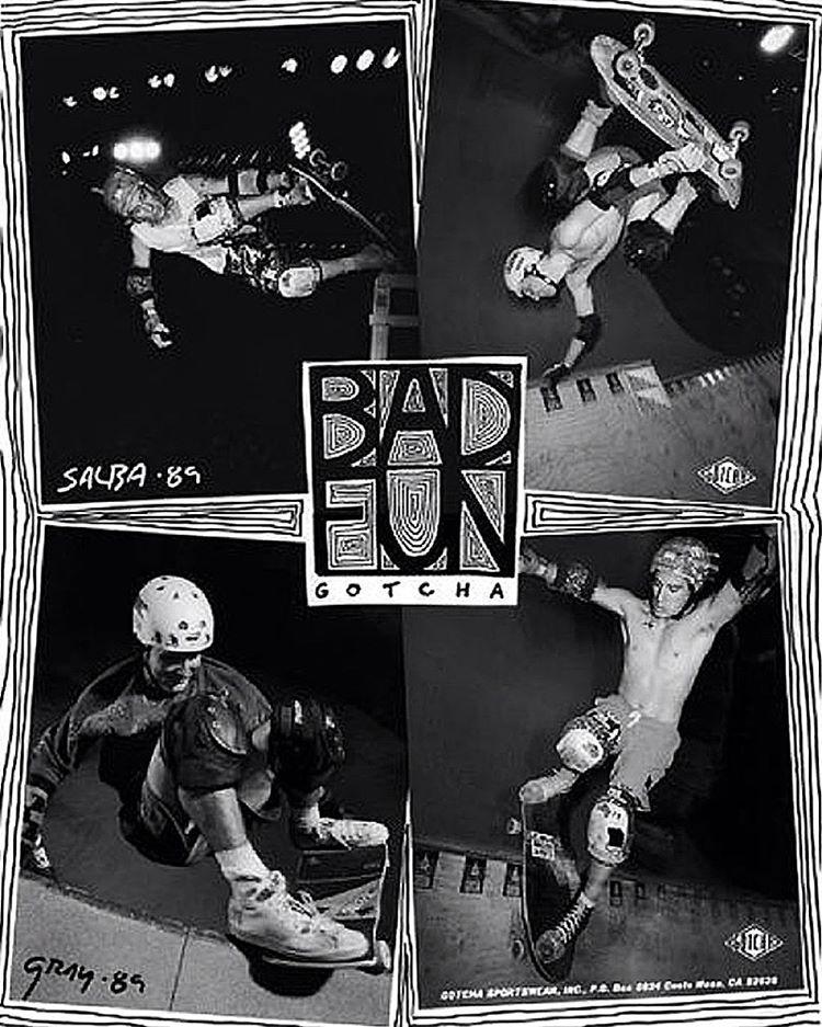 B A D F U N #gotcha #skateboarding