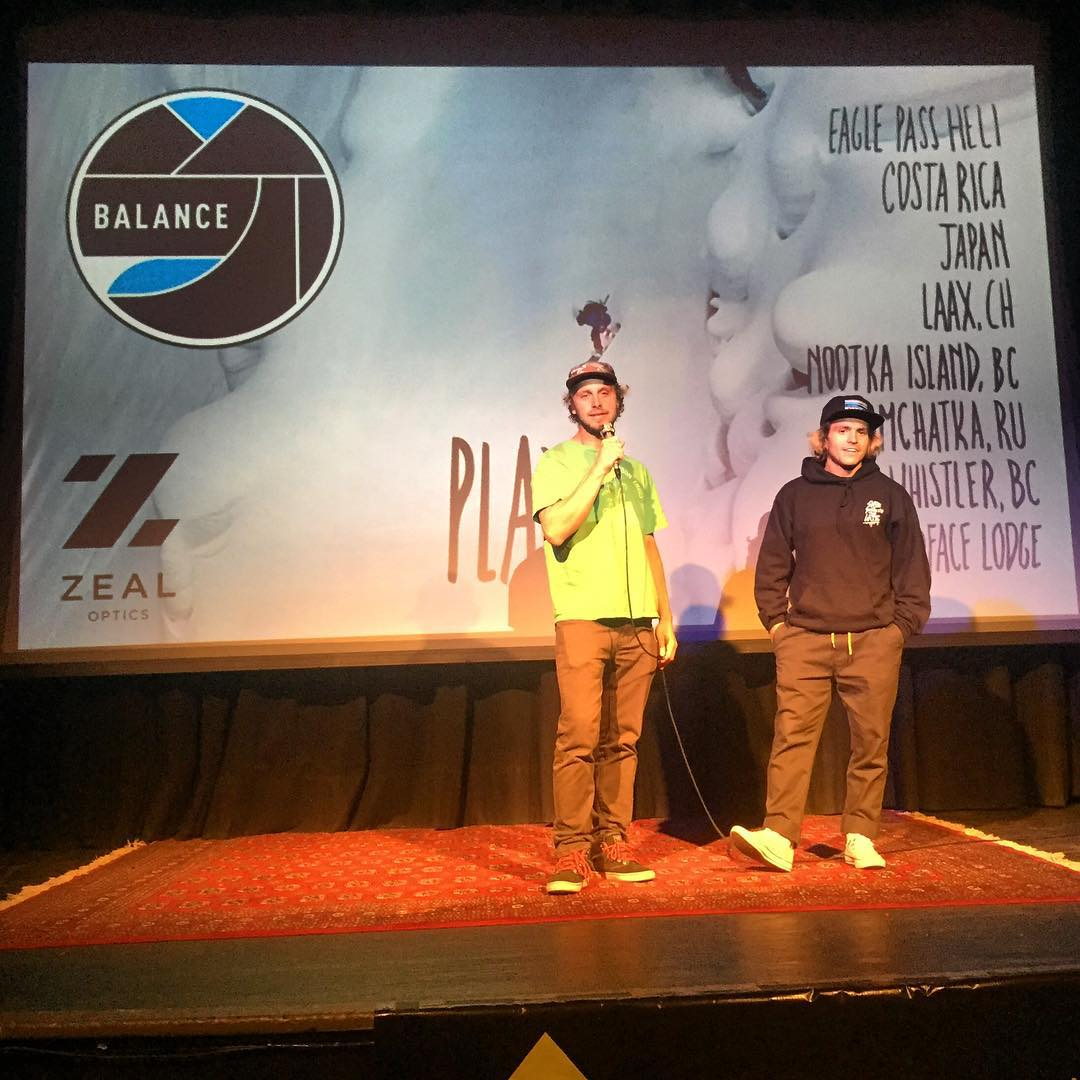 Happy birthday to the legendary @cholulaindahole! We had a chance to meet up with him and @austensweetin at the JH premiere of his new shred movie #Balance last night.  Definitely do not miss this amazing film when the tour comes to you town!  Thanks...