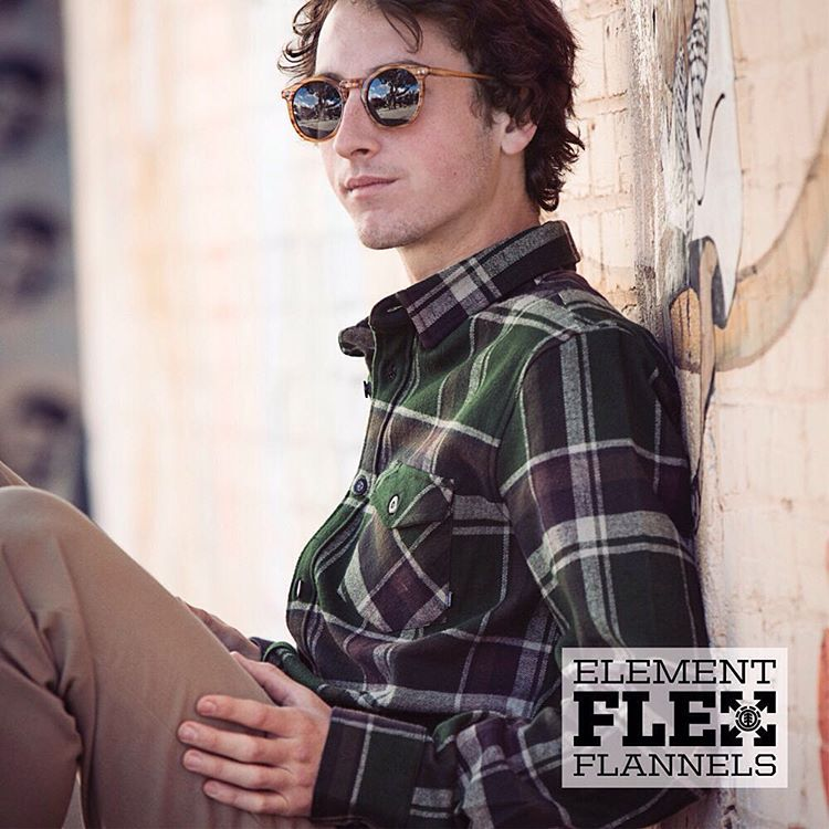 Ride without restrictions: Element Flex Flannels are made with movement in mind. Now available in an array of colors at ElementBrand.com >>> Link in Bio #ElementFlex
