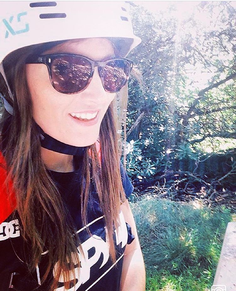 XS rider @fayeyoung biking in beautiful New Forest, UK #xshelmets #bikehelmet #bikeculture #forest #nature #beauty #cycle