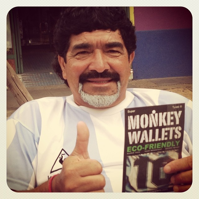 #monkeywallets #argentina #maradona @monkeywallets