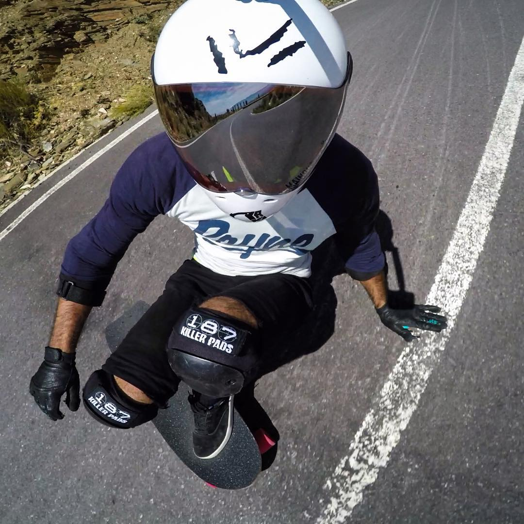 High speed selfie game is strong with @alvarobajo on his new #raynevandal #raynelust and #raynehighsociety gloves at the #velefique free ride this past weekend!  Check his feed for more rad media!