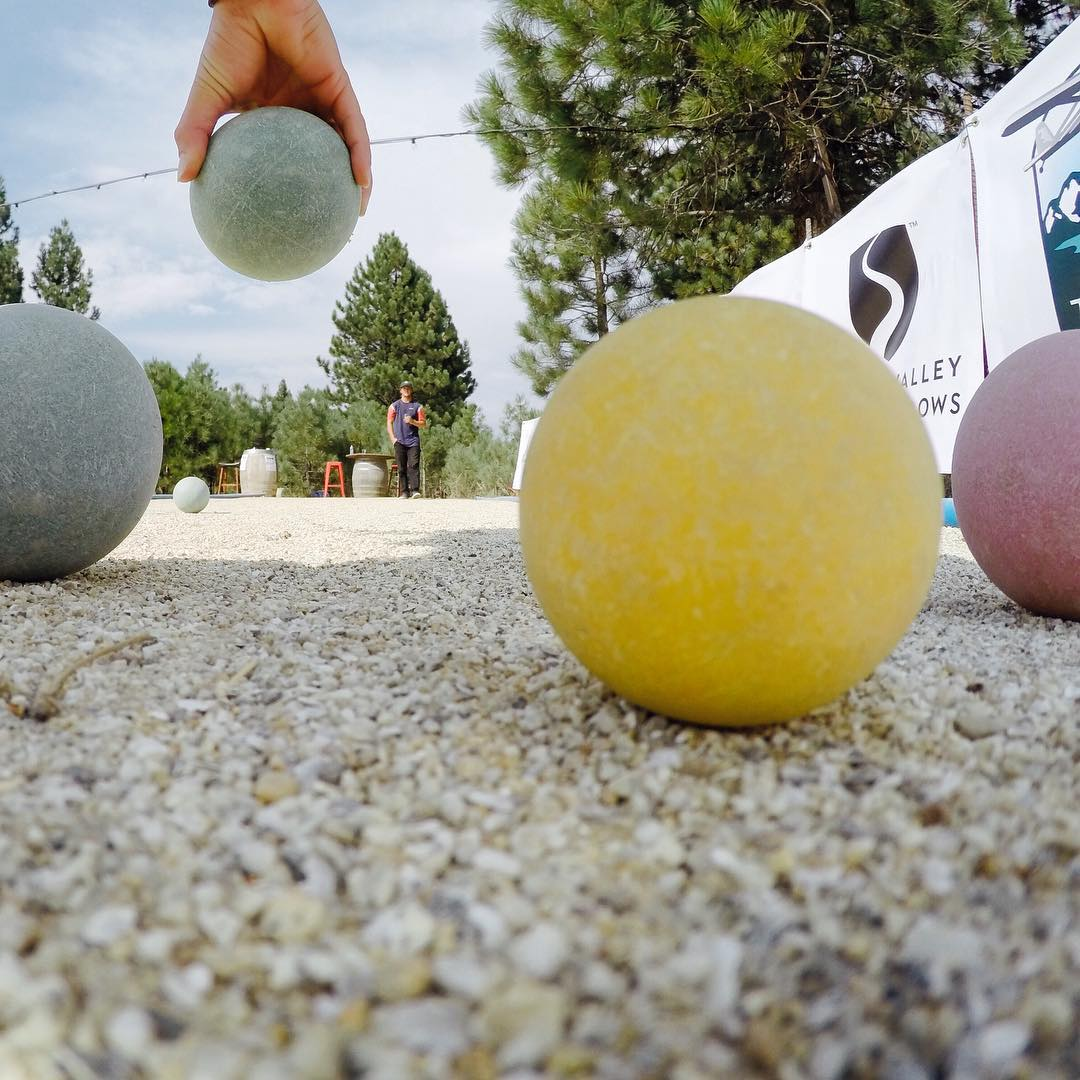 Yesterday was a great day of #bocce! Thank you sponsors & everyone who came out & supported the #highfivesfoundation. @gopro #gopro