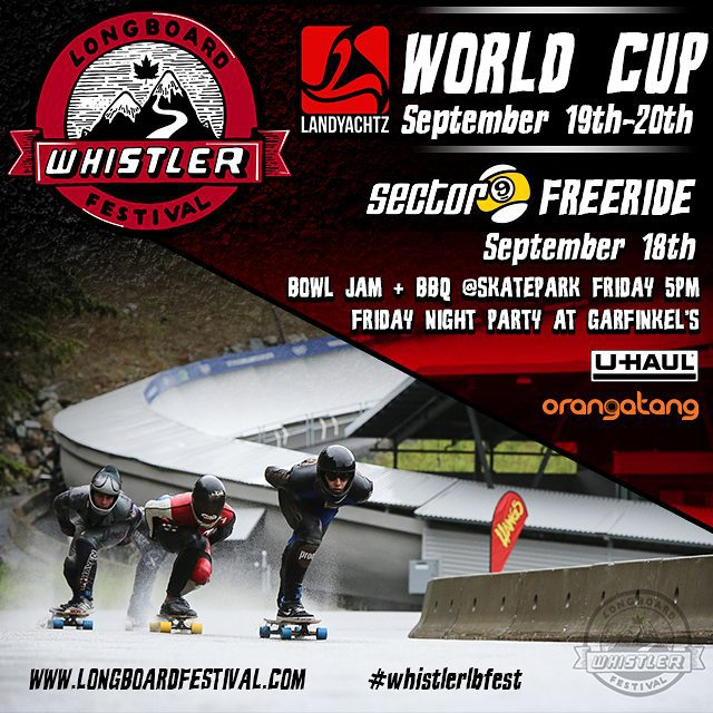 If your in Canada or have enough miles to fly there, the #WhistlerLBFest is going down this weekend!  Ride the rough and rowdy road of radness with the world's top Downhill Skateboarders!!! #Orangatang