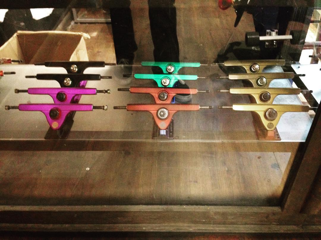 @longboardloftnyc knows how to mix up the color ways! Hit them up for fresh gear!