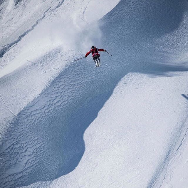 Tabke gettin' rowdy with his Pandas in Haines, AK last year on #FWT15! Yeeehawww!!! Repost: @freerideworldtour  @drewtabke #PandaPoles #PandaTribe #TribeUP!