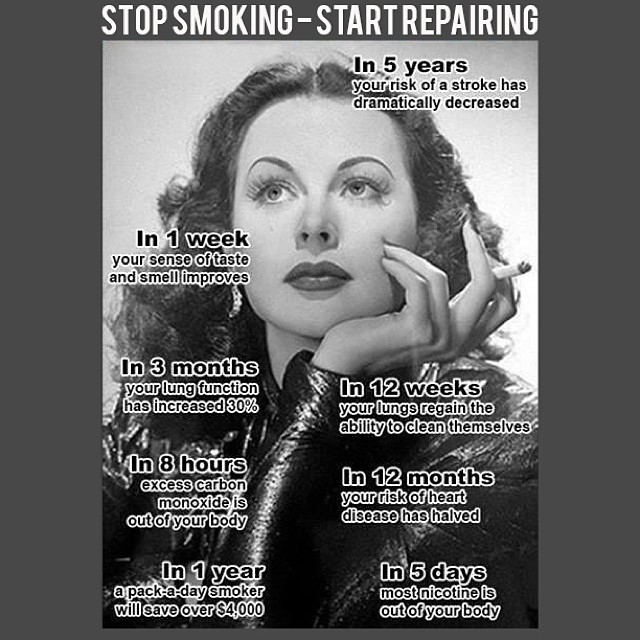 PAUSE 4 PREVENTION // Stop Smoking, Start Repairing Every cigarette you don't smoke is doing you good.  Smoking harms nearly every organ of the body, not only reducing the health of smokers in general, but also causing and contributing to several types...