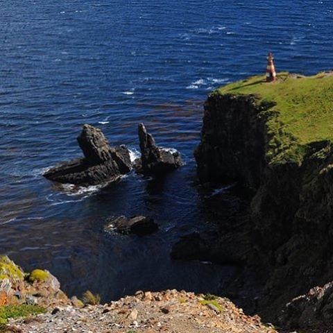 Faro San Pío, el punto más austral de Argentina. #conservemos #peninsulamitre #tierradelfuego