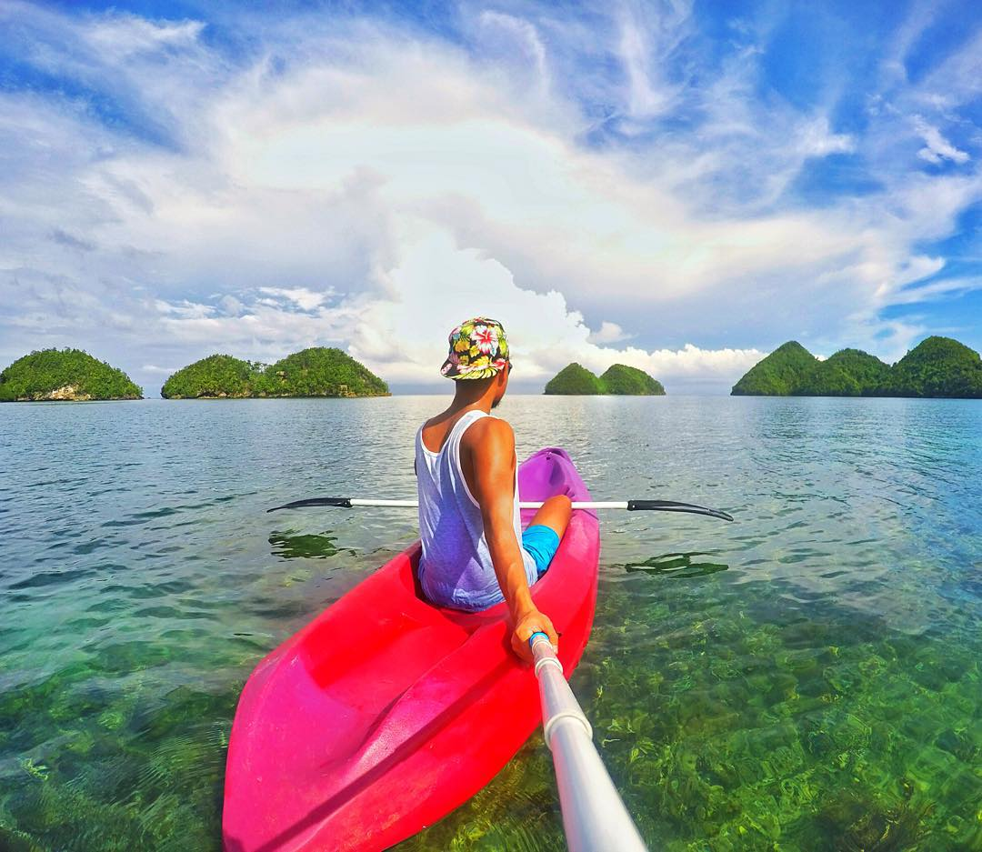 @chardichard on a morning kayak in Sipalay, Philippines. GoPro HERO4 | GoPole Reach #gopro #gopole #gopolereach #kayak #philippines