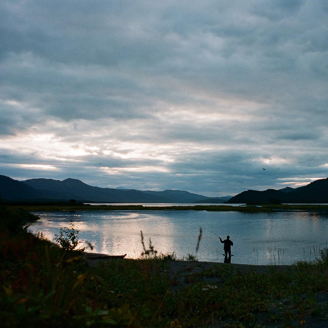 Film scans from Russia - @cyrus_sutton fly fishing for his dinner
