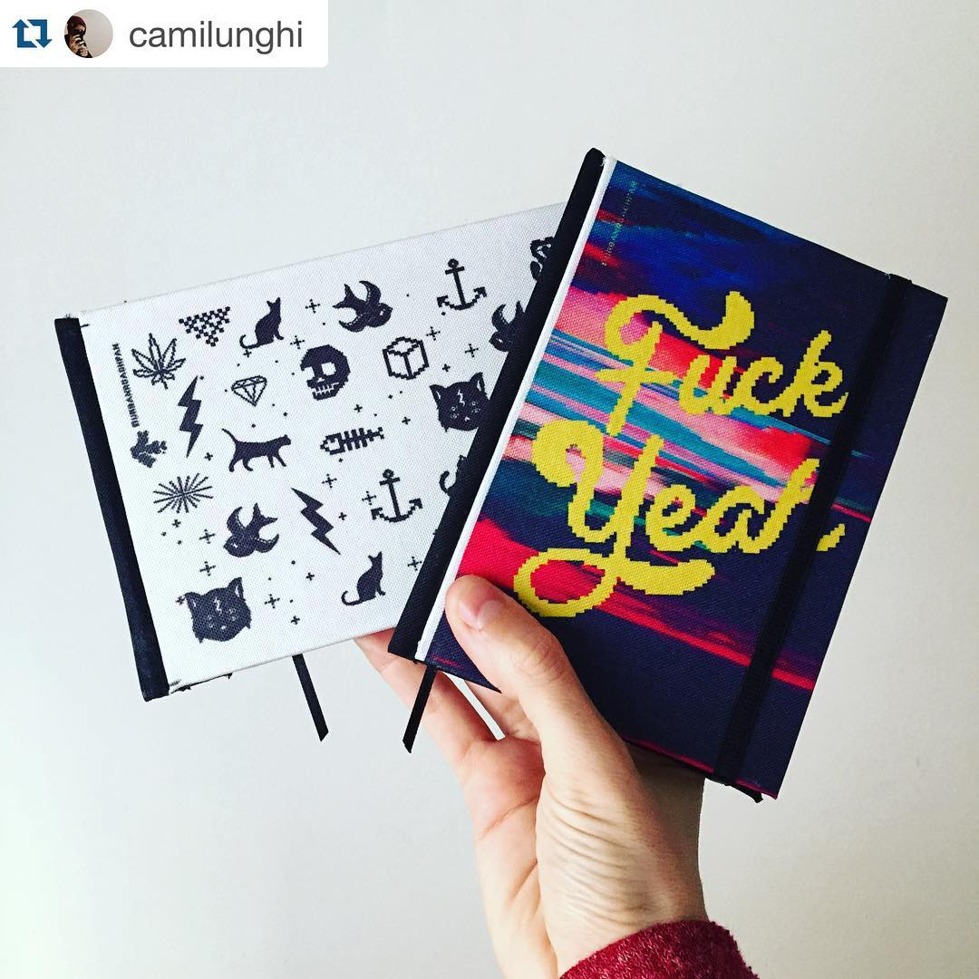 #Repost @camilunghi with @repostapp. ・・・ Habemus los primeros cuadernitos para @trimarchidg junto a @urban_roach <3