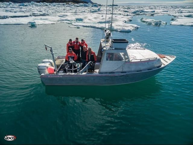 "VDOS Global's operators using the #DJI #Phantom3 Advanced.  The first team to use the DJI system off shore supporting a variety of marine and environmental missions in the Arctic Circle.  VDOS completed the final mission Aug 31 taking this ""#Dronie"" on..."