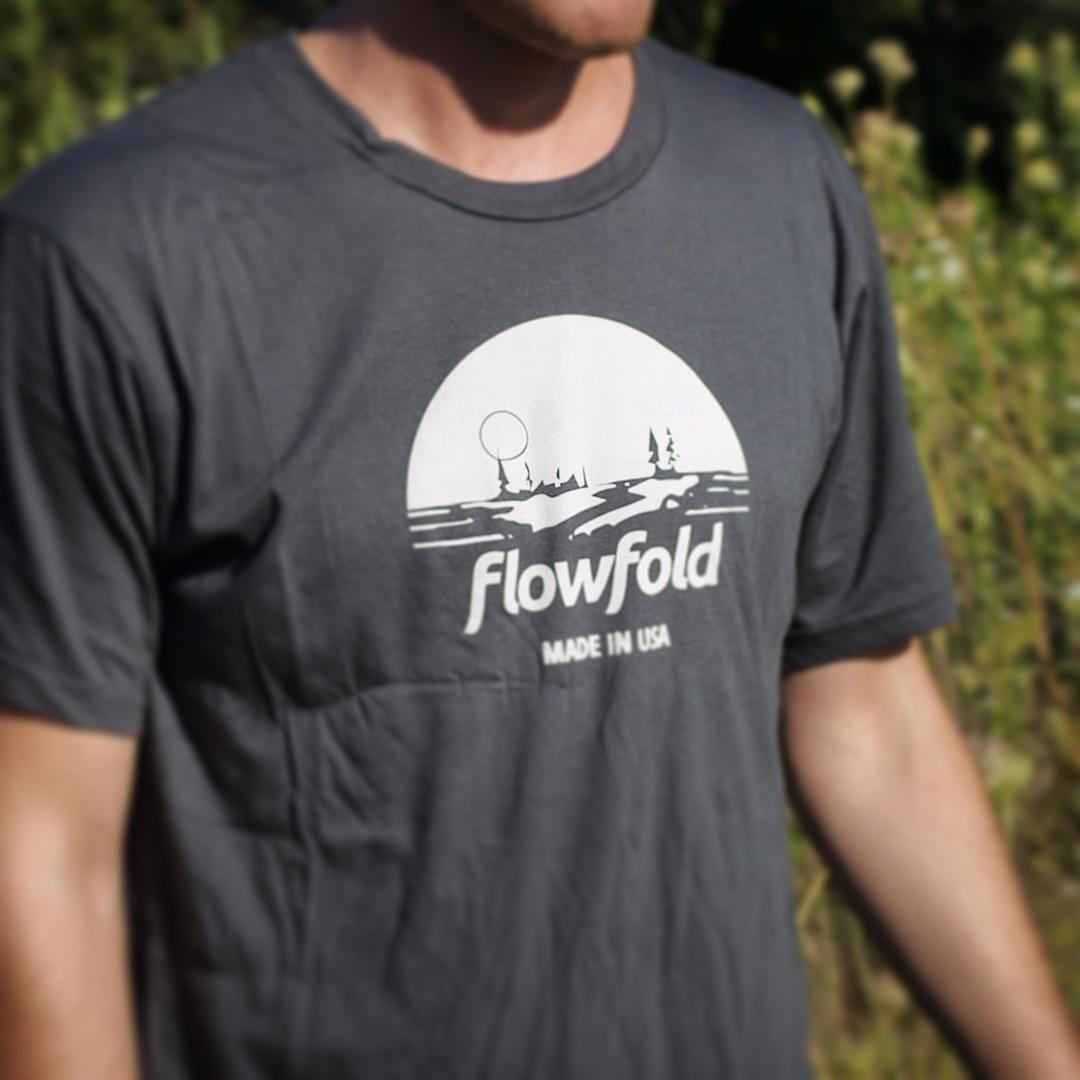 We are excited to send out another one of these ultra soft tees this week! Made in USA from a breathe-easy cotton and hemp blend. Want to win one? Tag us using #Flowfold on your next Peak Experience and we'll repost a winner Friday!