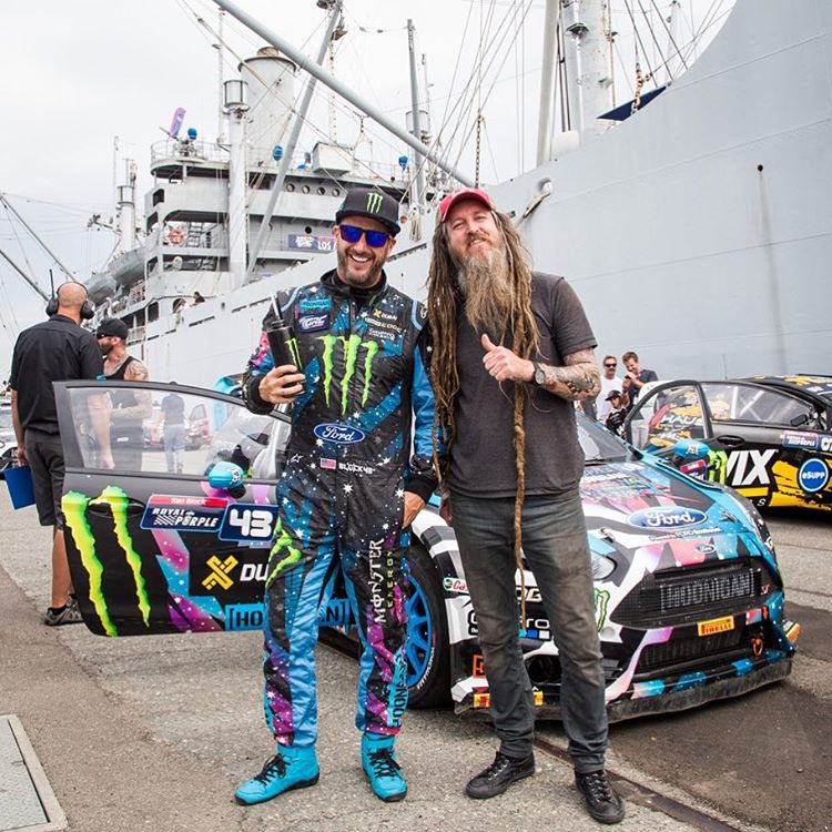 "Saw my buddy/Los Angeles local @MagnusWalker cruising through the race track pre-grid area at #GlobalRallycross LA this past weekend. Always good to chat with this dude! Especially since we're both in the new @NeedForSpeed ""Icons"" game that's coming..."