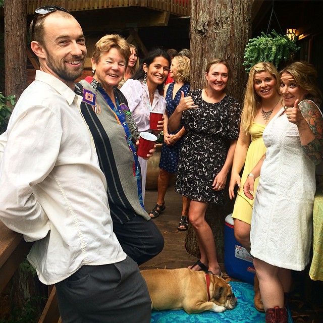 Had a great time celebrating two amazing people, Lucas and Mandi, this weekend in Mill Valley! Love you Mandi!!!! @soulbuni you are gold! #laketahoe #kirkwoodfamily #wildandfree #love @hazelbirnbaum @tahoelabboards @brithanythomson