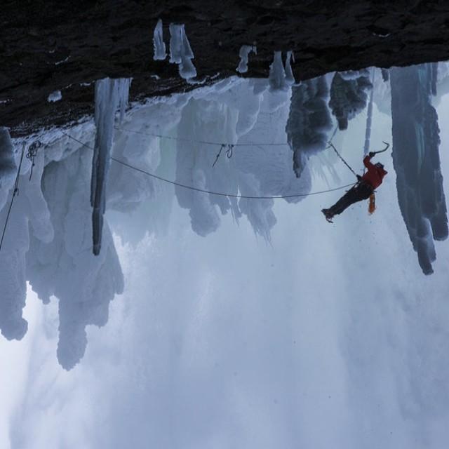 Tough terrain #willgadd #extremeclimbing #climbing #helmckenfalls