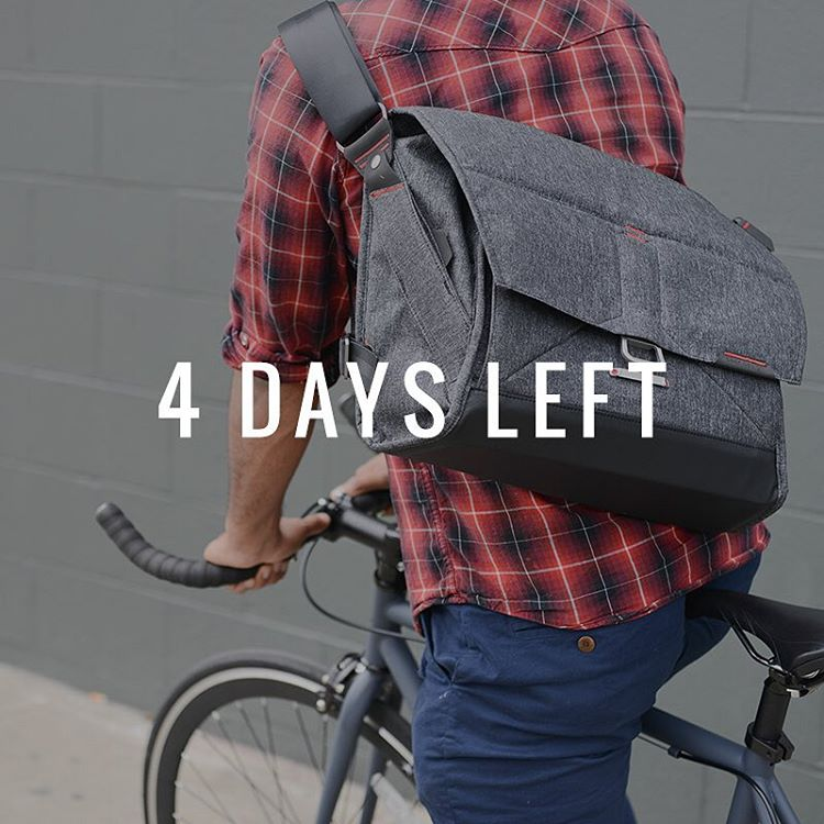 Just 4 days left to get your hands on #theeverydaymessenger via @kickstarter. We're at $3.7M and counting. One hell of a ride, and we're humbled by the incredible support you've given us! Link to our Kickstarter page is in our profile.