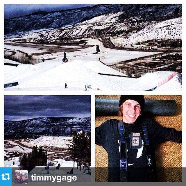 #Repost from @timmygage and his photos from practice at the #Aspenopen. Good luck today to the boys in #Roxa's! @i_tea_h and  @timmygage.