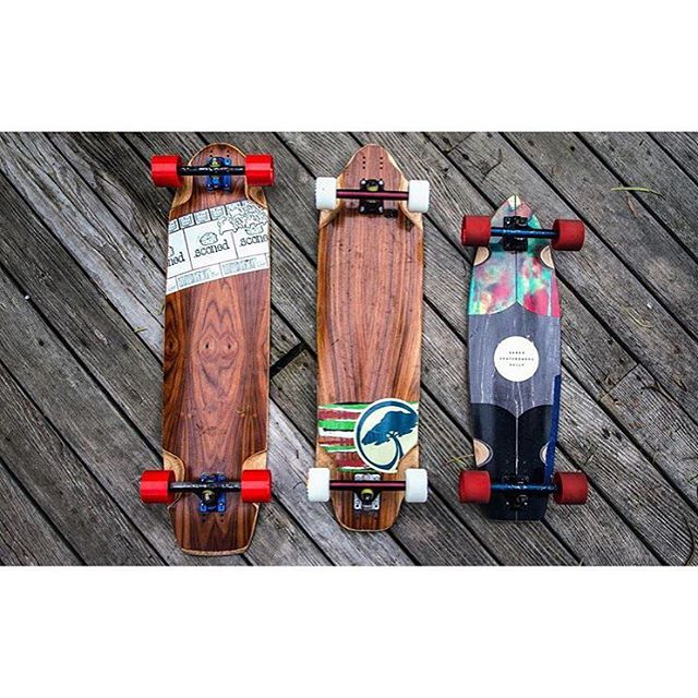 @toms_wurld of @santa_gnarbara keeps his quiver locked and loaded with the right trucks. #midnightsatin #caliber44 #caliber50