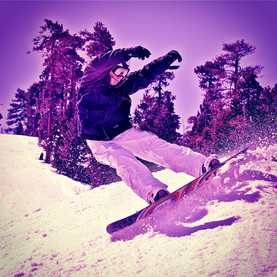It's still summer but we are sending some Stoked snow action your way!