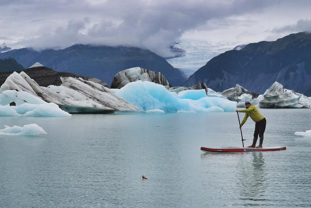 #tbt to when I paddled with the Bergs on Alsek Lake in Alaska. PC: @chasingbuoys
