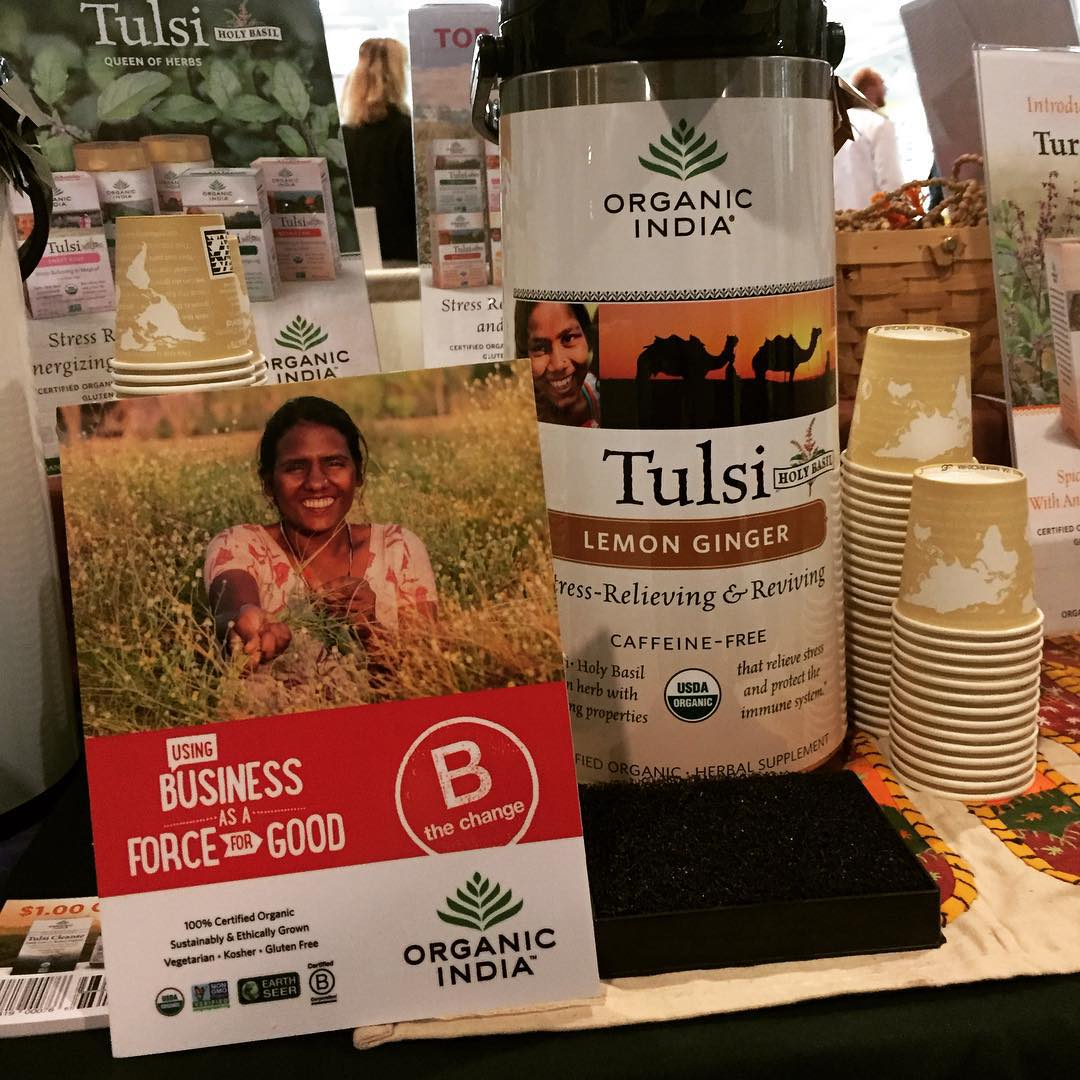 One of our newest additions to the #BCorp  family: @organicindiausa using business as a force for good ... What's your cup of tea? #BtheChange