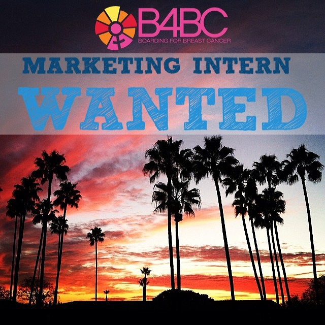 B4BC is looking for Spring Interns!! If you have an interest in marketing + social media, and a passion for wellness + breast cancer prevention, then we want you to come shred the love with us! Apply at Malakye.com: http://bit.ly/MeZuLg **Must live in...