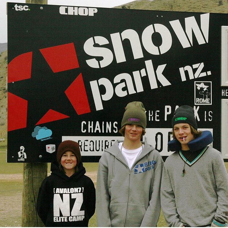 #tbt 2007 AVALON7 Elite Camp in New Zealand featuring super groms @raymerthegamer @camfitzpatrick and Noah Le Gros, with @robkingwill as Head Coach.  Good times and next level progression went down. Waterfalls, sheep and shredding! #avalon7...
