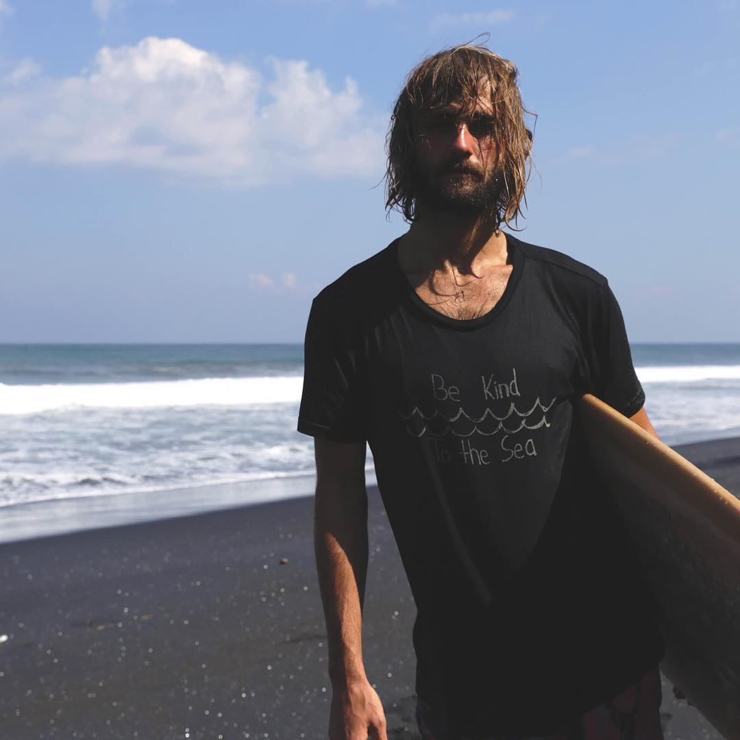 ~ Be Kind to the Sea ~  Mens and Women's To the Sea tees in black marked down from $32 to $25 in our online shop.  Made in California from a blend of hemp and organic cotton. Follow the link in our profile to view the shop....