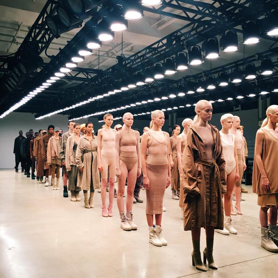 They definitely worked hard on the casting call for @adidas #yeezyseason2 via @highsnobiety