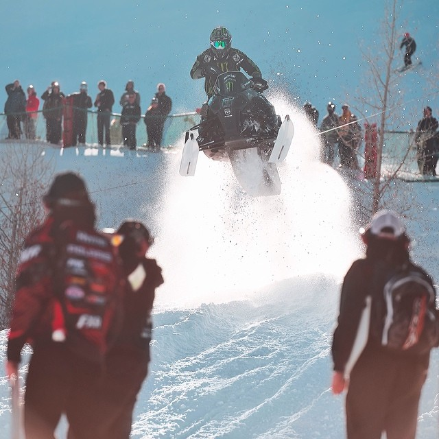 Throwback to SnoCross in Aspen! #xgames  Photo: @htkhlmn